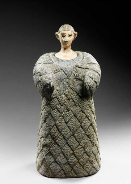 "Bactrian ""princess"", Central Asia, Late third millenium early second millenium BCE"