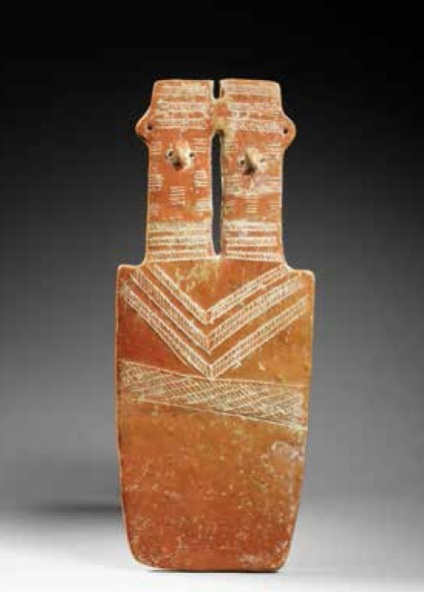 "Cypriot plaque ""idol"", (2300-1900 BCE)"
